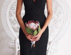 Chic Scalloped Crochet Lace Shoulder-straps Dress OASAP bester Fashion-Online-Shop aus China
