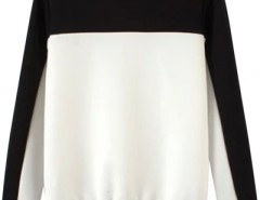 Concise Color Block Sweater OASAP bester Fashion-Online-Shop aus China