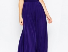 Elegant Deep V Sleeveless Maxi Dress OASAP bester Fashion-Online-Shop aus China