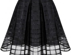 Enamoring Structured Mesh Skirt OASAP bester Fashion-Online-Shop aus China