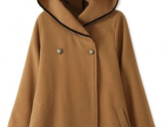 Essential Fashion Hooded Woolen Cape OASAP bester Fashion-Online-Shop aus China