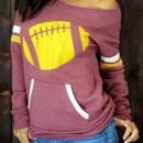 Fashion Fish Printing Pocket Front Sweatshirt OASAP bester Fashion-Online-Shop aus China