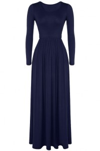 Fashion Solid Color Body-con Maxi Dress OASAP bester Fashion-Online-Shop aus China