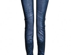 Fashion Whiskered Imitation Jeans Legging OASAP bester Fashion-Online-Shop aus China