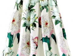 Floral print Pleated Swing Skirt OASAP bester Fashion-Online-Shop aus China
