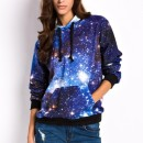 Mysterious Galaxy Print Hoodie OASAP bester Fashion-Online-Shop aus China