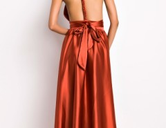 Ravishing Halter Neck Backless Ankle-Length Dress OASAP bester Fashion-Online-Shop aus China