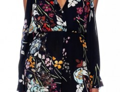 Sexy Hot Floral Middle-Waist Black Romper OASAP bester Fashion-Online-Shop aus China