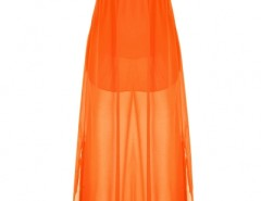 Stylish Plunging Neck Split Maxi Dress OASAP bester Fashion-Online-Shop aus China