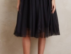 Sweet Mesh Layered Skirt Elastic Waist Midi Skirt OASAP bester Fashion-Online-Shop aus China