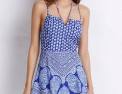 Vintage Geo Print Cami Dress OASAP bester Fashion-Online-Shop aus China